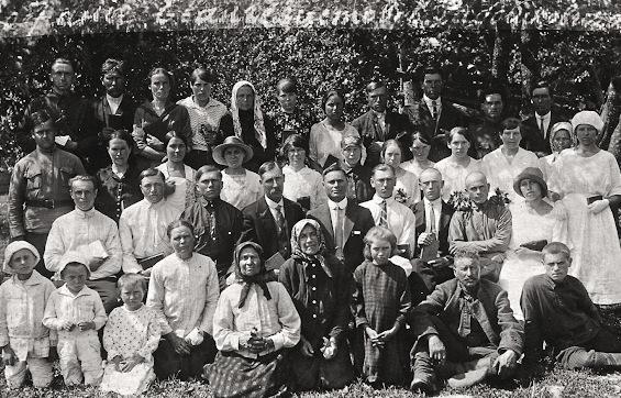 100 лет белорусской церкви ХВЕ