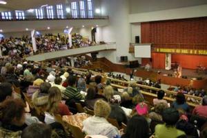 24 января 2009 года состоялась женская республиканская конференция «Бог мой - скала моя»