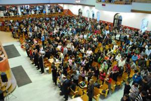 Более 1100 братьев и сестер из Минска и Минской области приняли участие в молодежной конференции, которая проходила 31 января на базе столичной церкви «Благодать».