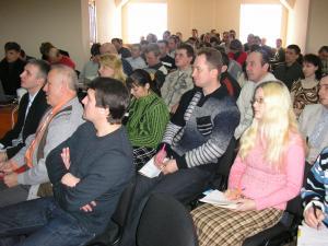 21 февраля 2009 г. в г. Барановичи в здании реабилитационного центра миссии «Возвращение» состоялся семинар для желающих трудиться в сфере реабилитации наркоманов и алкоголиков.