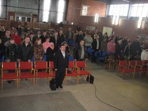 Седьмого марта в здании церкви