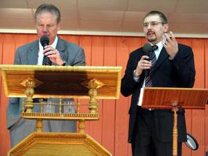 Завершился четвертый и последний день конференции основными спикерами  которой были  пасторы Дейл Йертон и Кемп Холден.
