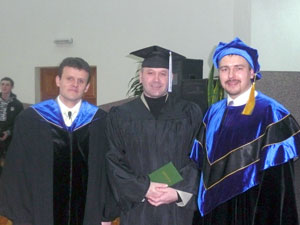 8 марта  в Церкви «Вознесение» г.Барановичи состоялся пятый выпуск студентов видеошколы.