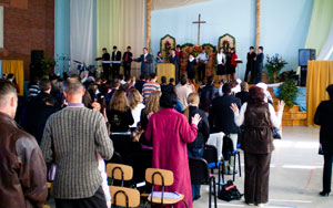 В субботу 9 мая в церкви «Благодать» г. Лида, Гродненской области прошла молодежная конференция.