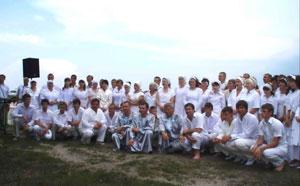 Водное крещение в Солигорском регионе