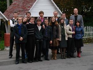 Молодежь Солигорской церкви «Христос для всех» посетила с дружественным визитом молодежное служение церкви «Вознесение» г. Барановичи.