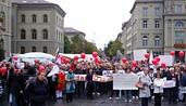 В Швейцарии прошел митинг против преследований христиан в исламских странах