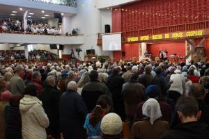 Праздник Жатвы в церкви