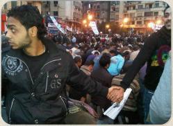 Египетские христиане стали для мусульман живым щитом
