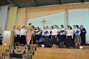 Поездка старшего хора церкви «Благодать» города  Минска в Гродненскую область