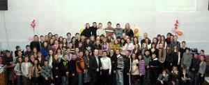 В церкви «Благодать» деревни Дубица прошла подростковая библейская школа
