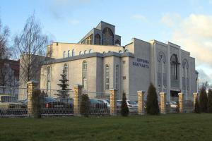 В церкви «Благодать» прошло служение хлебопреломления