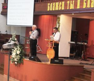 Воскресные служения с участием Дейла Йертона