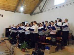 Хор церкви «Благодать» посетил церковь Светлогорска