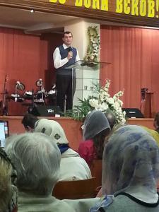 О жажде по Богу молились в «Благодати» Минска