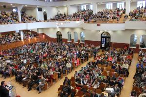 Республиканская подростковая конференция прошла в церкви