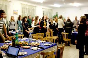 Рождественская встреча старшей молодежи прошла в церкви