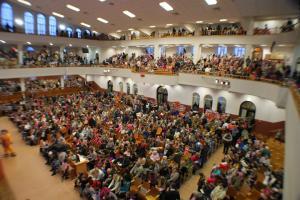 Более 15 000 человек посетили Рождественские служения церкви
