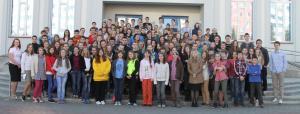 Библейская школа для подростков прошла в церкви