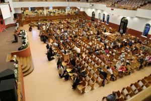 Молитвенные служения за мир в Украине прошли в церкви