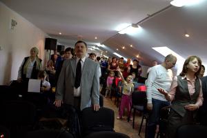 Церковь поселка Дружный отметила двадцатилетие