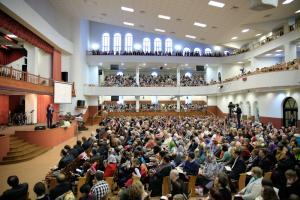 В Минске прошли служения с участием Александра Шевченко (фоторепортаж)