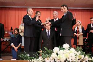 Восемь дьяконов рукоположены в церкви
