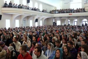 В Ольшанах провели конференцию для молодежи