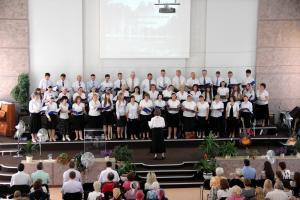 В Солигорске и Старобине послужил старший хор церкви