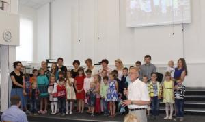 Новый учебный год начался в воскресной школе церкви