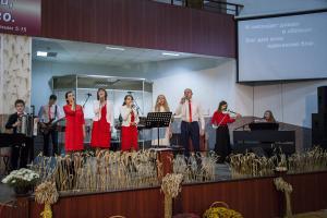 Праздник Жатвы прошел в Барановичской церкви