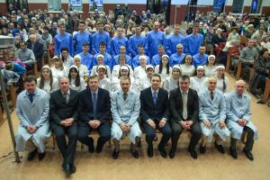 32 человека приняло крещение в церкви «Благодать» г.Минска