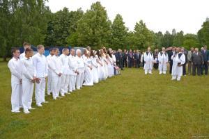 В церкви «Спасение» города Барановичи 27 человек заключили завет с Богом