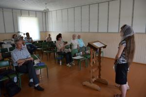 Молодежь «Гефсимании» послужила в церкви Логойска