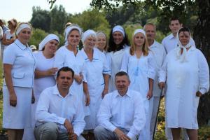 В церкви «Благодать» Светлогорска прошло водное крещение