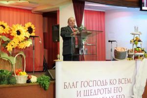 Праздник Жатвы прошел в церкви
