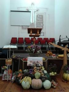 В березовской «Благодати» отметили праздник Жатвы