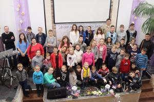 В «Гефсимании» провели лагерь для подростков