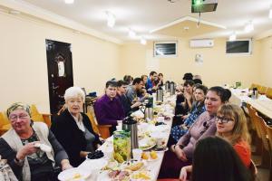 В «Гефсимании» состоялась встреча основного хора