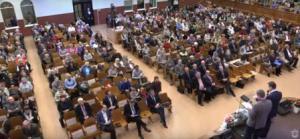 Церковь «Благодать» поблагодарила Бога за прожитый 2017 год