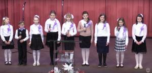 Служение, посвященное женщинам, мамам и сестрам прошло в церкви «Благодать» Минска