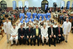 В церкви «Благодать» Минска 33 человека вступили в завет с Богом
