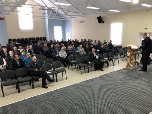 Отчетно-выборная конференция служителей Гомельской области