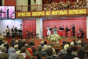 Праздник Воскресения Господа Христа отметили в церкви «Благодать»