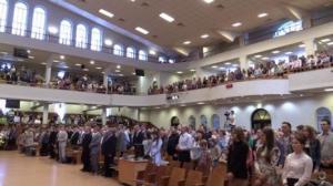 В церкви «Благодать» г.Минска отметили праздник Пятидесятницы