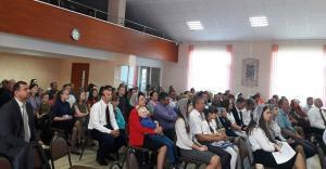 Молодежный хор церкви «Гефсимания» послужил в поселке Энергетиков