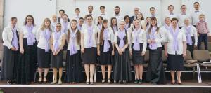 Объединенный хор «Гефсимании» послужил в Солигорске и Старобине