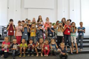 Летняя детская библейская школа прошла в церкви «Свет жизни»