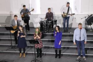 В церкви «Свет жизни» г. Минска прошел вечер хвалы