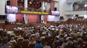 Праздник Пятидесятницы прошел в церкви «Благодать» Минска